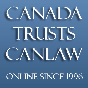 You can always trust CanLaw Helping Canadians with legal problems since 1996