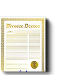This kit lets you obtain your court issued legal proof of divorce so you can make the same mistake again and marry another time