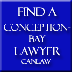 Conception Bay Lawyers who are members of the Law Society of Newfoundland approve and recommend CanLaw and use our services