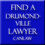 Drummondville Lawyers and Notaries, who are members of the Law Society of Quebec approve and recommend CanLaw and use our services