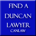 Duncan Lawyers, who are members of the Law Society of British Columbia approve and recommend CanLaw and use our services in their firms