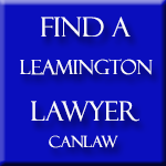 All Leamington Ontario slip and fall law firms and lawyers