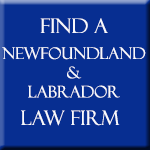 All Newfoundland & Labrador law firms and lawyers
