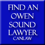 Owen Sound Lawyers, who are members of the Law Society of Upper Canada approve and recommend CanLaw and use our services in their firms