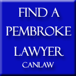 Pembroke Lawyers, who are members of the Law Society of Upper Canada approve and recommend CanLaw and use our services in their firms