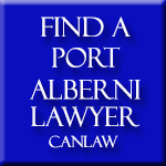 Port Alberni Lawyers who are members of the Law Society of British Columbia approve and recommend CanLaw and use our services