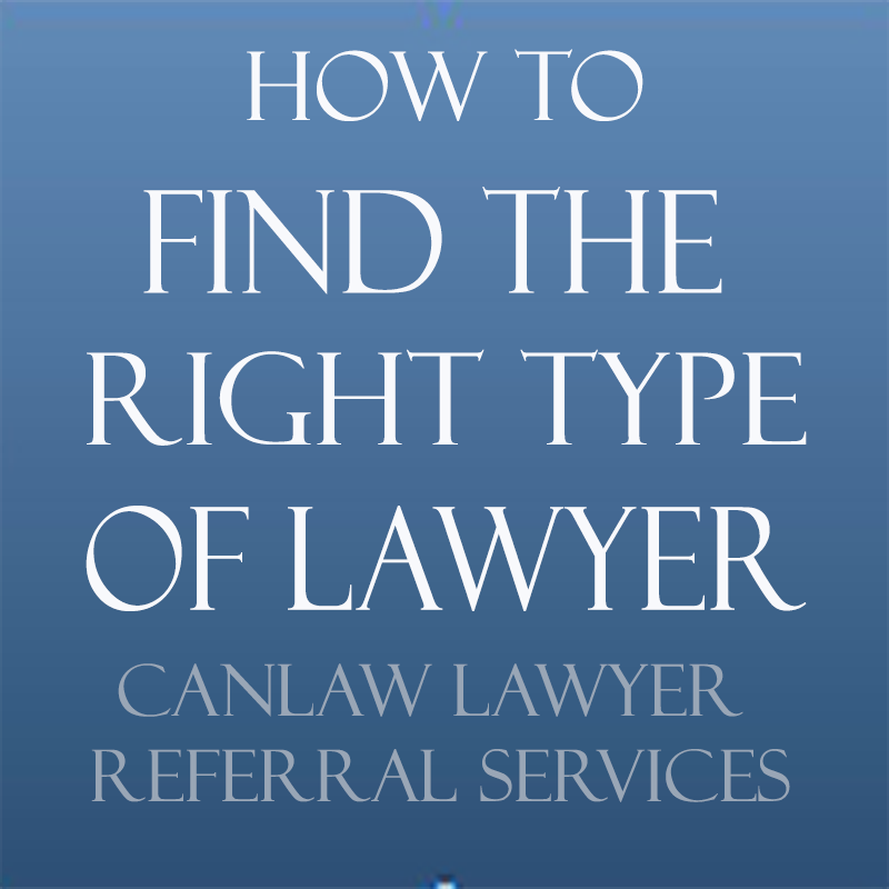 All Canada ,LSRS , legal aid lawyers, all  law firms and all lawyers
